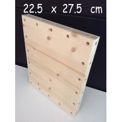 XenModul étagère bois massif 22.5 cm x 27.5 cm