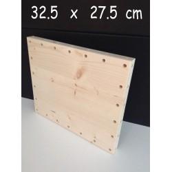 XenModul étagère bois massif 32.5 cm x 27.5 cm