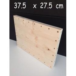 XenModul étagère bois massif 37.5 cm x 27.5 cm
