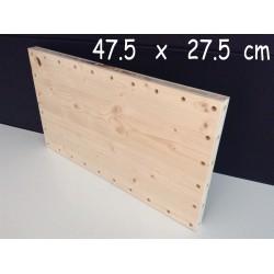 XenModul étagère bois massif 47.5 cm x 27.5 cm