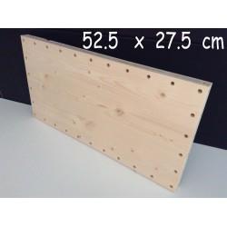 XenModul étagère bois massif 52.5 cm x 27.5 cm