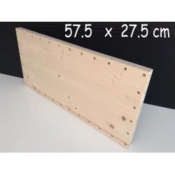XenModul étagère bois massif 57.5 cm x 27.5 cm