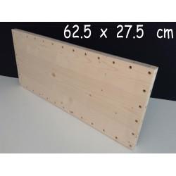 XenModul étagère bois massif 62.5 cm x 27.5 cm