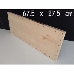 XenModul étagère bois massif 67.5 cm x 27.5 cm