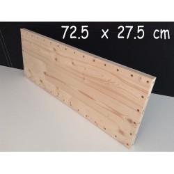 XenModul étagère bois massif 72.5 cm x 27.5 cm