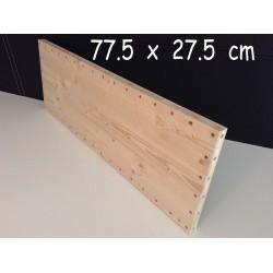 XenModul étagère bois massif 77.5 cm x 27.5 cm