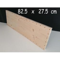XenModul étagère bois massif 82.5 cm x 27.5 cm