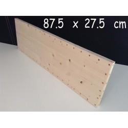 XenModul étagère bois massif 87.5 cm x 27.5 cm