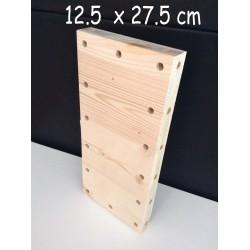XenModul étagère bois massif 12.5 cm x 27.5 cm
