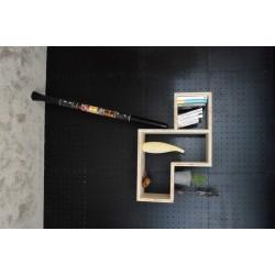 XenInos Z en Epicéa Brut/étagère: facile à monter soi-même/massif 90x60 cm prof 27.5 cm