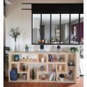 PARIS / meuble bois massif ép 2,5 cm/ déco / naturel / étagère /bibliothèque, meuble à monter soi-même