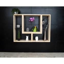 VERTOU / meuble bois massif / déco / naturel / étagère /bibliothèque, meuble à monter soi-même