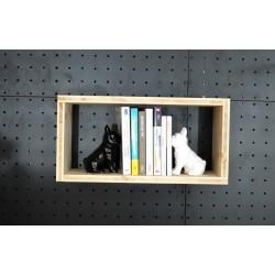 XenInos 8 / meuble bois massif / déco / naturel / étagère /bibliothèque, meuble à monter soi-même