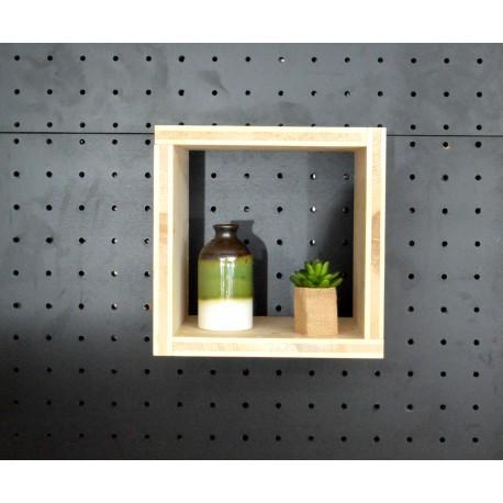 XenInos O/ meuble bois massif / déco / naturel / étagère /bibliothèque, meuble à monter soi-même.