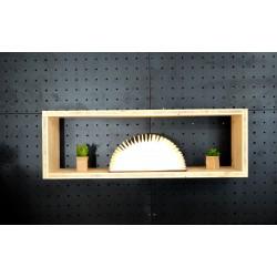 XenInos I / meuble bois massif / déco / naturel / étagère /bibliothèque, meuble à monter soi-même, Tétris