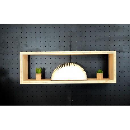 XenInos I / meuble bois massif / déco / naturel / étagère /bibliothèque, meuble à monter soi-même