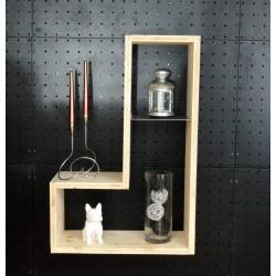 XenInos J / meuble bois massif / déco / naturel / étagère /bibliothèque, meuble à monter soi-même, Tétris