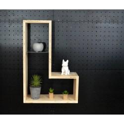 XenInos L / meuble bois massif / déco / naturel / étagère /bibliothèque, meuble à monter soi-même, Tétris