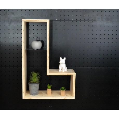XenInos L / meuble bois massif / déco / naturel / étagère /bibliothèque, meuble à monter soi-même