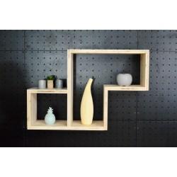 XenInos S / meuble bois massif / déco / naturel / étagère /bibliothèque, meuble à monter soi-même