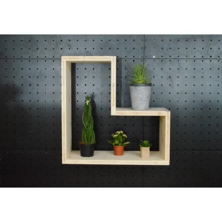 XenInos V / meuble bois massif / déco / naturel / étagère /bibliothèque, meuble à monter soi-même