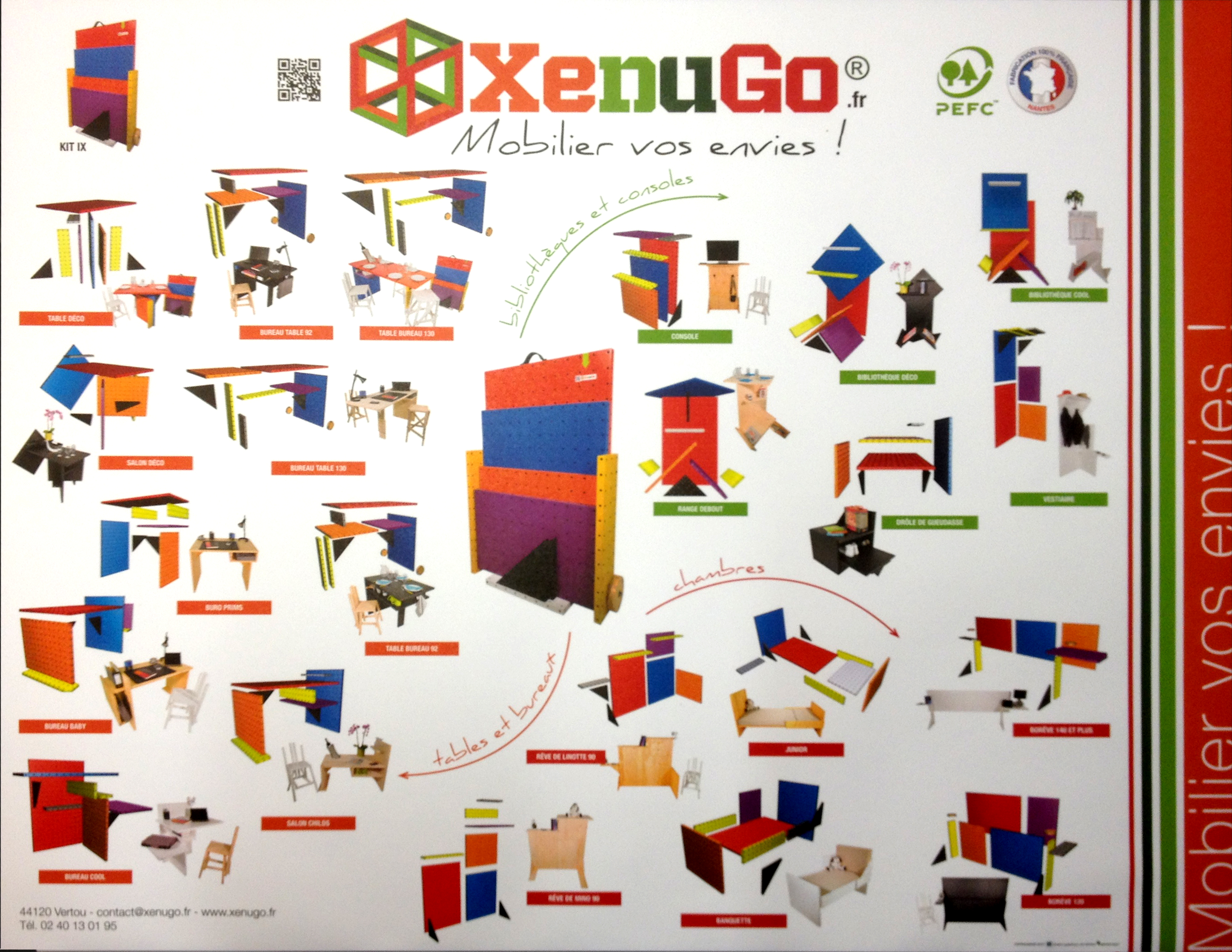 A propos xenugo for Atelier du meuble